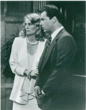 Cybill Shepherd and Bruce Willis of Moonlighting...dressed by Turturice
