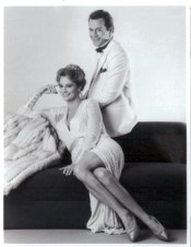Cybill and Bruce dressed to perfection by Turturice