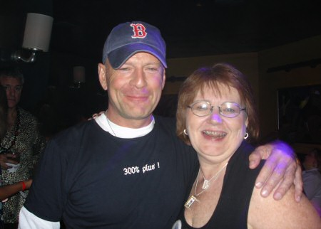 Bruce Willis and Diane Hopkins