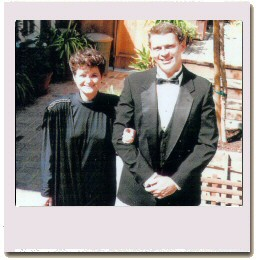 Carl and Debra On the way to the Emmys 1986
