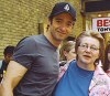 Diane with Hugh Jackman